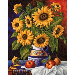 Diamond Painting Set - Sonnenblumenstrauß