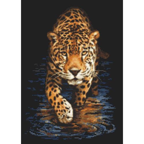 Stickpackung - Panther - Jagd in der Nacht