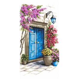 Stickpackung - Tür mit Geheimnissen