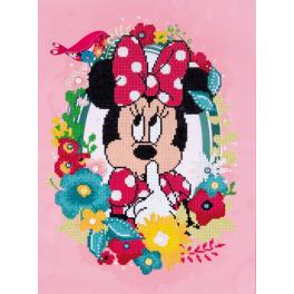 Diamond Painting Set - Minnie sagt sch...