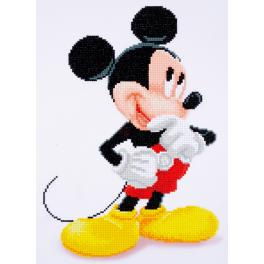 Diamond Painting Set - Micky Maus