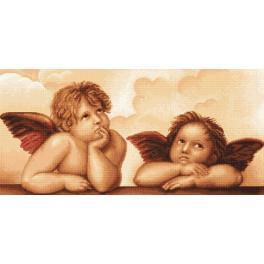 LS B319 Stickpackung - Engel von Michelangelo