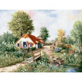Stickpackung - Dorf