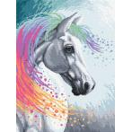 Diamond Painting Set - Verzaubertes Pferd
