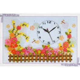 Bändchenset - Uhr mit einem Zaun