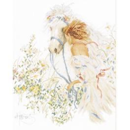 Stickpackung - Pferd