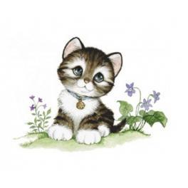 Diamond Painting Set - Kleine Katze