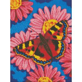 Diamond Painting Set - Schmetterling