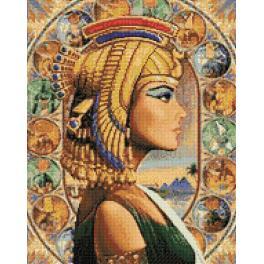 Diamond Painting Set - Königin von Ägypten