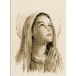 Stickpackung - Heilige Maria