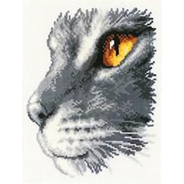 Stickpackung - Königliche Katze