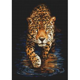 Diamond Painting Set - Panther