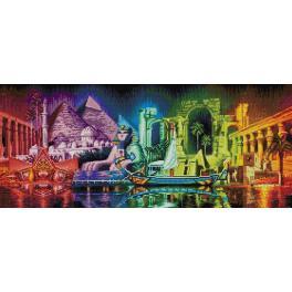 Diamond Painting Set - Farben von Ägypten