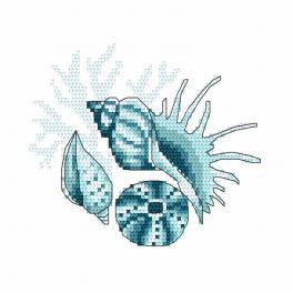 Zählmuster - Meeresmuscheln III