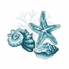 Stickpackung - Meeresmuscheln II