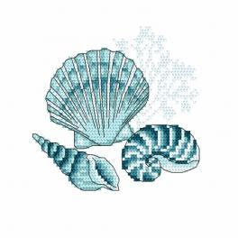 Stickpackung - Meeresmuscheln I