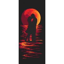 Zählmuster - Romantische Nacht