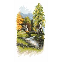 Gobelin - Herbstanzeichen