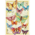Stickpackung - Schönheit der Schmetterlinge