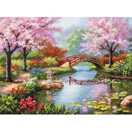 Stickpackung - Japanischer Garten