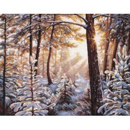 Stickpackung - Frost und Sonne