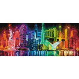 Diamond Painting Set - Farben der New York