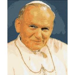 6058 Papst Johannes Paul II - Gobelin