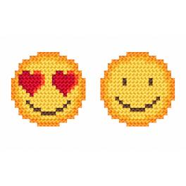 W 8999 Zahlmuster ONLINE - Emoticons
