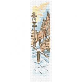 ZU 10405 Stickpackung - Lesezeichen - Brücke der Liebenden