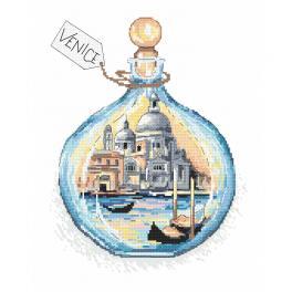 W 10401 Zahlmuster ONLINE - Andenken an Venedig