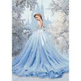 Aida mit Aufdruck - Schneedame