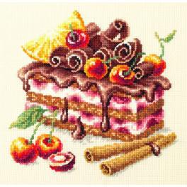 Stickpackung - Kirschkuchen