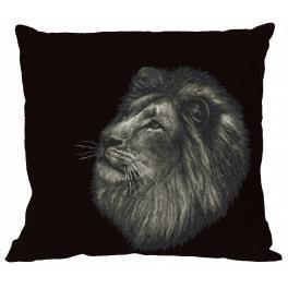 Zählmuster - Kissen - Löwe