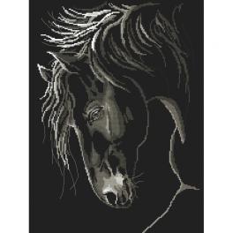 Zahlmuster ONLINE - Würdevolles Pferd