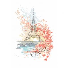 Zahlmuster ONLINE - Parisian charms