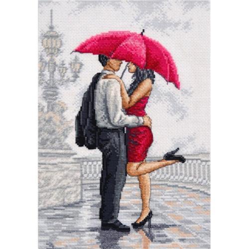 Stickpackung - Im Regen