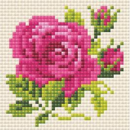 Diamond Painting Set - Rosa Rose