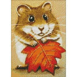 Diamond Painting Set - Kleiner Hamster