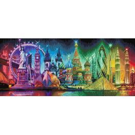 Diamond Painting Set - Farben der Welt
