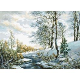 Stickpackung - Winterlandschaft