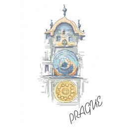 Stickpackung - Altstädter Astronomische Uhr in Prag
