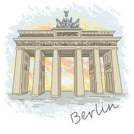 W 10415 Zahlmuster ONLINE - Berlin - Brandenburger Tor