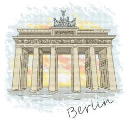 GC 10415 Zählmuster - Berlin - Brandenburger Tor