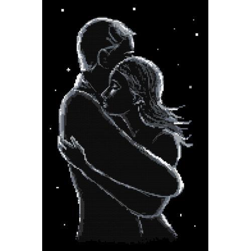 Zählmuster - Die Verliebten in der Nacht