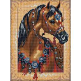 Diamond Painting Set - Arabisches Pferd
