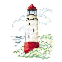 Stickpackung - Landschaft mit Leuchtturm I