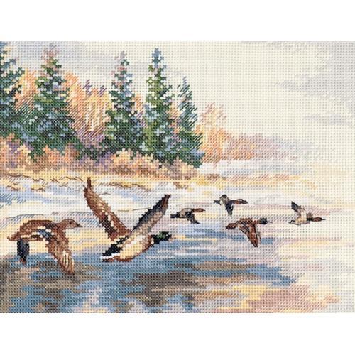 Stickpackung - Fliegende Enten