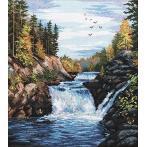 Stickpackung - Wasserfall