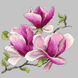 Stickpackung - Wohlriechende Magnolie
