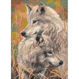 Stickpackung - Wolfstreue